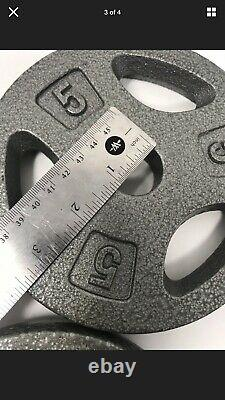 60lbs + Réglable Set D'haltères Poids. Plaques En Fonte. Poignées En Acier Cap Hd