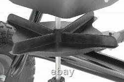 85 Lb Derrière La Diffusion D'éparpilleur D'éparpilleur D'engrais Hopper Seed Atv Lawn Tractor Tir