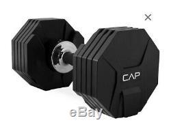 Cap 50lb 1 Simple Réglable Haltère Poids (comme Bowflex 552) 5 À 50 Lbs