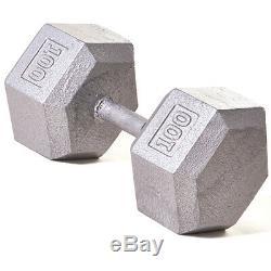 Champion Barbell 100 Lb Solide Hex Dumbbell (l'unité)