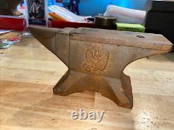 Farmall Anvil Collector Paper Poids Blacksmith Cast Iron Garage Gunsmith 6+ Lbs