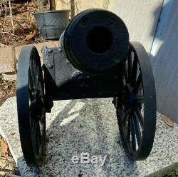 Grand Vintage 35 Big Fonte Cannon, Pèse Environ 100 Lb