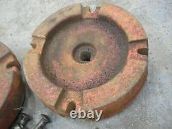 Gravely 8123 Tracteurs Cast Iron Rear Wheel Poids Fit 12 Rims 44lb