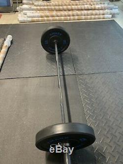 Haltère Olympic Bar Noir 7ft X 2inch 1200lb Capacité