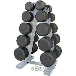 Haltère Poids Rack Home Gym Fitness Workout Force 150 Lb Poids Set De Levage