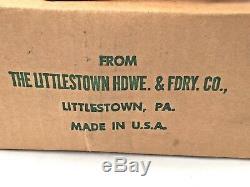 Littco No. 119 Fonte £ 8 Anvil Littlestown Matériel De Fonderie Co. New Stock Vieux