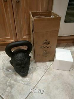Nouveau Onnit Kettlebell 54lb Ghostface Thrilla Zombie Bell 1.5 Pood Poids 54 Livre