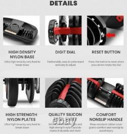 Nouveaux Haltères Réglables De 105 Lb + Stand Like Bowflex Selecttech, En Stock