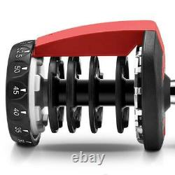 Nouveaux Haltères Réglables Poids 2pcs Pour Les Séances D'entraînement De Remise En Forme Home Gym 52.5lbs