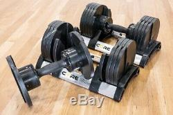 Noyau Home Fitness Haltères Réglables Set (5-50 Lbs) Dans La Main Rapide Ship