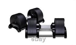 Nuo Fitness Réglable Dumbbell Set Twistlock Poids Sélectionnables