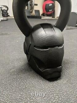 Onnit Marvel Iron Man 40 Lb Kettlebell Fitness Gym Equipment Ironman