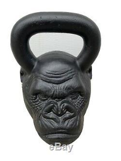 Onnit Primal Kettlebell Série Gorilla 32 KG / Rare & Collection Frit Jusqu'à 72 Lb. Menthe