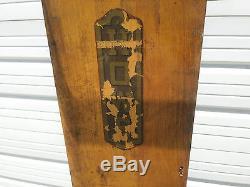 Plate-forme Énorme Howe En Fonte Antique Échelle Capacité 4000 Lbs