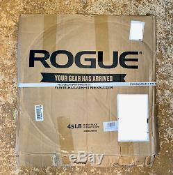 Plates Rogue Olympiques Plaques En Fonte 2 De 45 Lb = 90 Lb Newfast Expédition