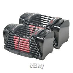 Powerblock 50 Haltères Réglables 10-50 Lbs. Nouveau