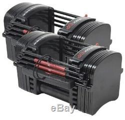Powerblock Exp Étape 1 Réglable Set Haltère (1 Paire) 50lb Par Main