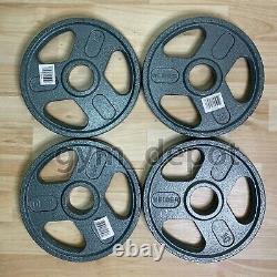 Quatre Weider Olympic Plate Poids De 10lb 4 Plaques Total Livraison Gratuite