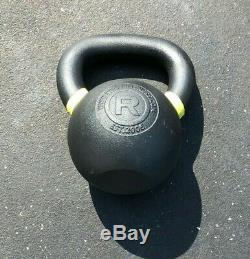 Rogue Fitness 35 Lb Rouge Bouilloire Bell, 16 KG Bateaux Cast Iron Rapidement