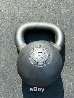 Rogue Fitness 44 Lb Rouge Bouilloire Cloche 20 KG Nouveau Fonte Navires Rapidement