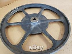 Vintage Delta Rockwell Milwaukee 14 Scie À Ruban Cast Iron Roues Lbs-91 Lbs-92
