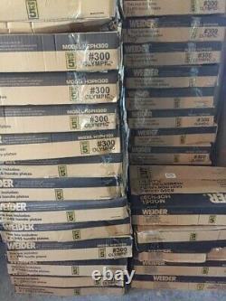 Weider Olympiques 2 Plaques De Poids Tailles Les 45 35 25 10 5 2,5 Hammertone Nouveau