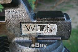 Wilton 745 Mécanicien De Vise, 5 '' Jaw, Avec Pivot De Base Et Tuyaux Poignées, 48 lb Vice