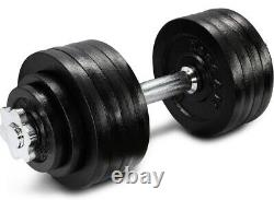 Yes4all Dwp2z 105 Lbs (2x52.5lbs) Haltères Navires Fastfree