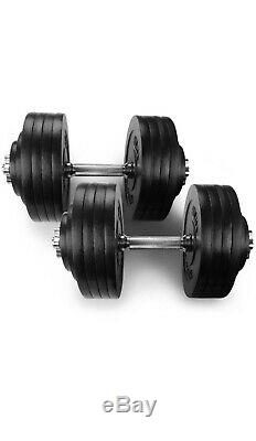 Yes4all Haltères Réglables 200lbs (2x100lbs) Paire