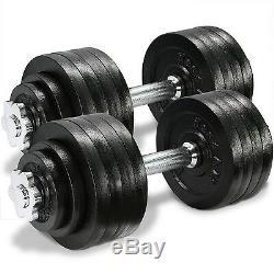 Yes4all Réglable Set D'haltères Poids Fitness, 40 À 200 Livres (vendus Par Paire)