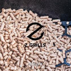 Z Grilles Granulés De Bois Grill 8 Dans Une Fumée Grill 700 Sqin Zone De Cuisson, 20 Lb
